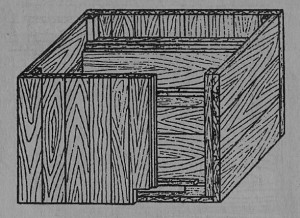 Рис. 7 Корпус улья-лежака без наружной обшивки