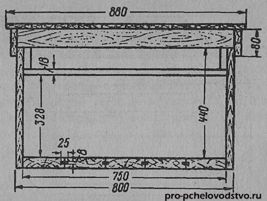 Улья-лежака на 24 рамки своими руками