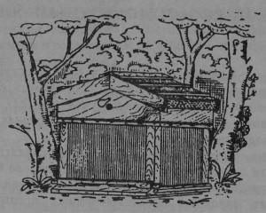 Рис.22. Камышевый улей (внешний вид).